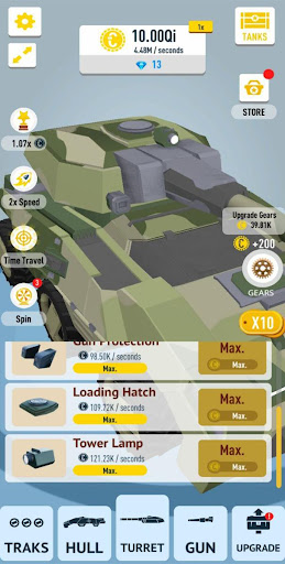 Idle Tanks 3D apkdebit screenshots 14