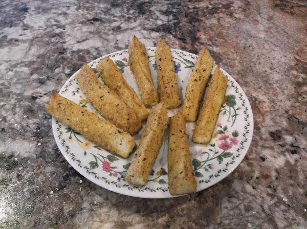 Oven-fried Zucchini Sticks Recipe