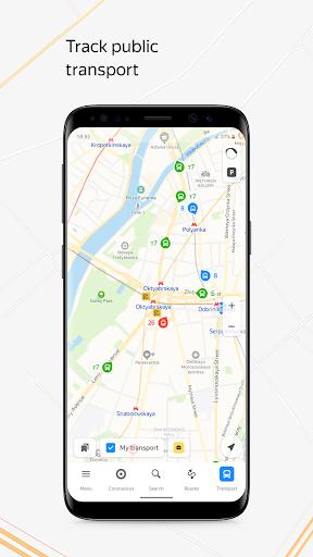Yandex.Maps and Transport 9.5 Screenshots 1