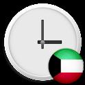 Kuwait Clock & RSS Widget icon