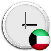 Kuwait Clock & RSS Widget