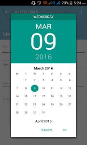 Auto SMS screenshot 4