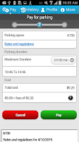 Screenshot of P$ Mobile Service