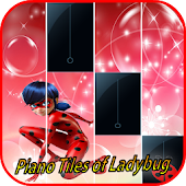 Ladybug Tiles Piano Game