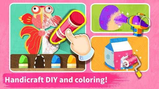 Baby Panda's Art Classroom: Music & Drawing 8.39.11.00 9