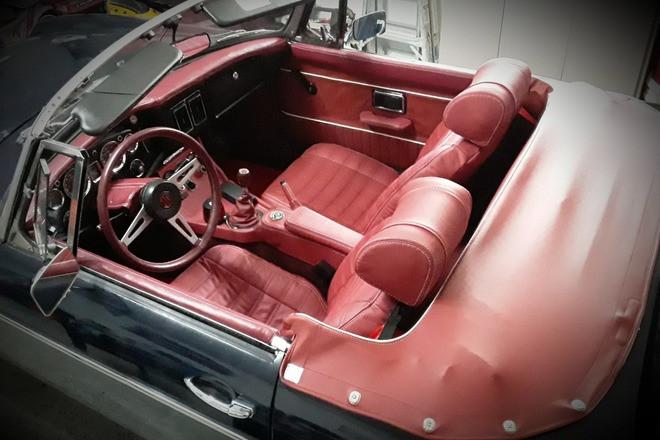 1973 MGB Roadster Hire FL