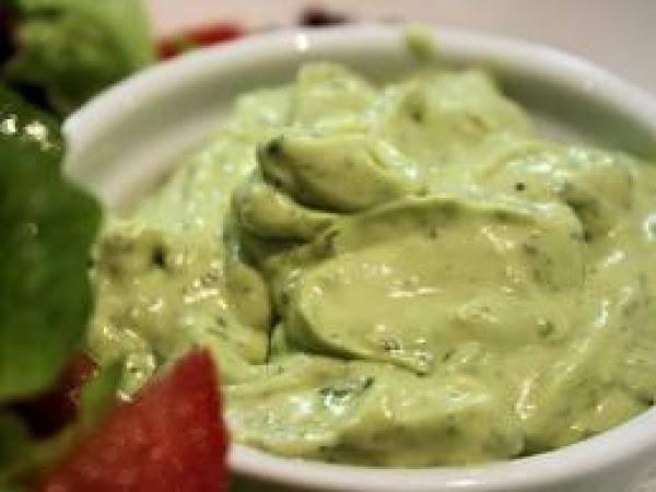 Avocado  Creamy Dressing Recipe