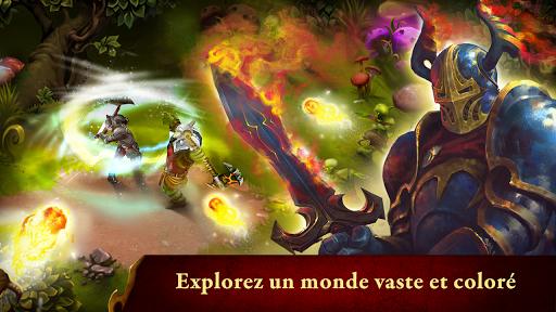 Code Triche Guild of Heroes - fantasy RPG APK MOD (Astuce) screenshots 1
