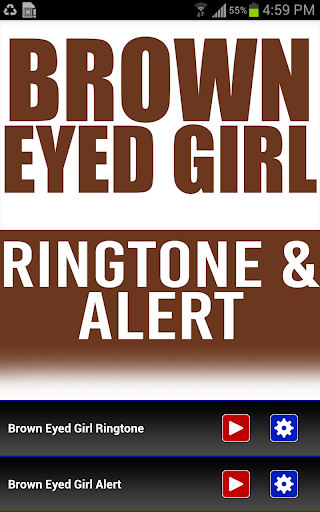 Brown Eyed Girl INTRO Ringtone