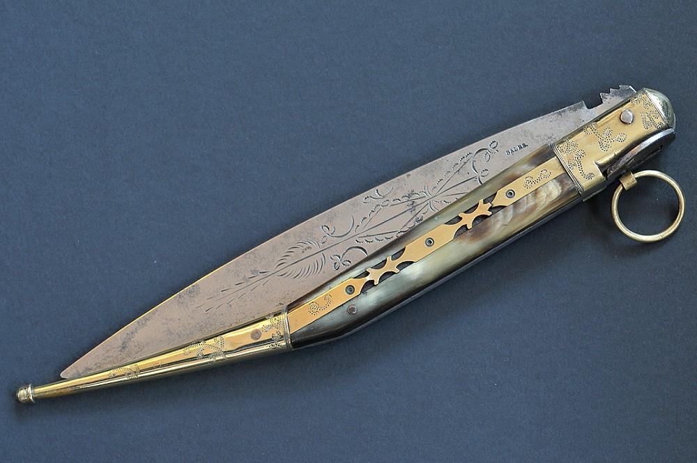 Ganivet del Roussillon, marcato SALES