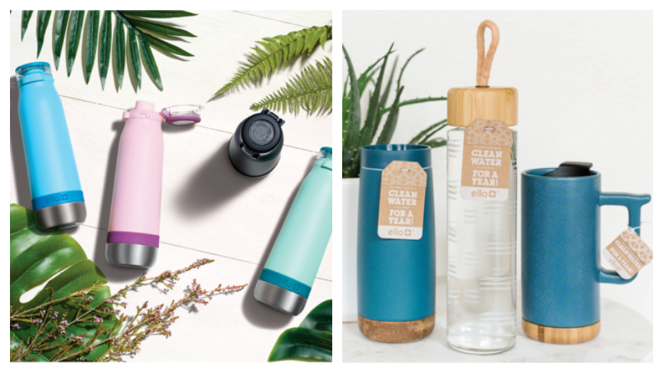 TOP Water bottle brands ello