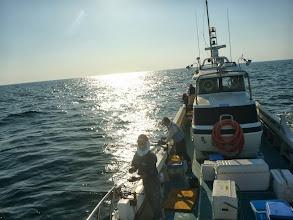 Photo: 今日もイサキ釣りです! 波が穏やかな予報なので、昨日よりもちょっと遠くに。