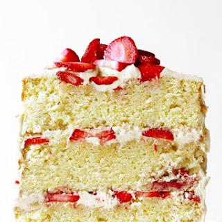 California Strawberry Cake.