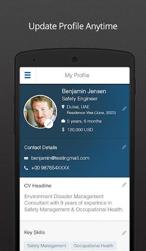 Naukrigulf- Career & Job Search App in Dubai, Gulf screenshot 3