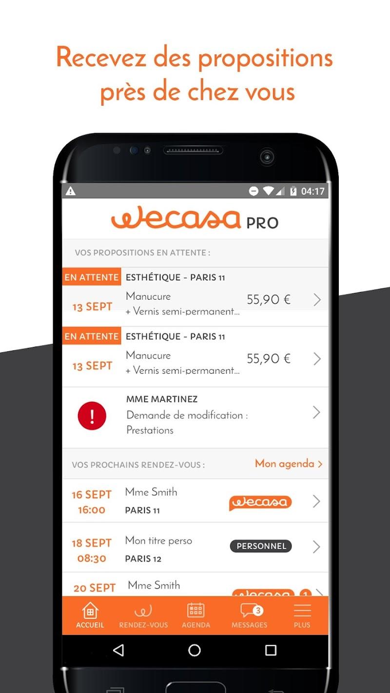 Скриншот Wecasa PRO