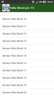 Yalla Shoot pro TV - náhled
