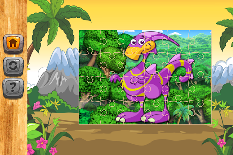 Little Dinosaur Puzzle Games Jigsaw - náhled