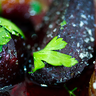 Roast Balsamic Beetroot and Onion Recipe