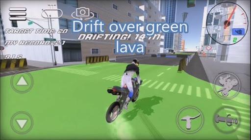 Wheelie Rider 3D - Traffic rider wheelies rider 1.0 screenshots 6