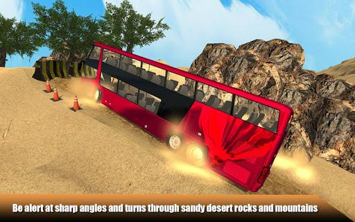 Offroad Desert Bus Simulator apktram screenshots 5