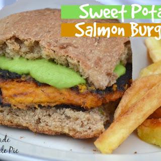 Sweet Potato Salmon Burgers
