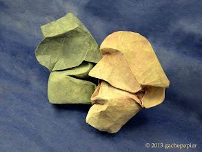 Photo: Murmures - rectangle de lokta, 25cm x 50cm