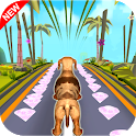 Pet Dogs Runner: Subway Endless Free Game. icon