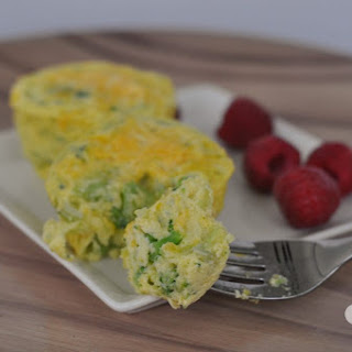 Broccoli and Cheese Egg Muffins Recipe
