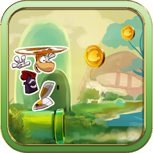 Super Rayman Run for PC and MAC