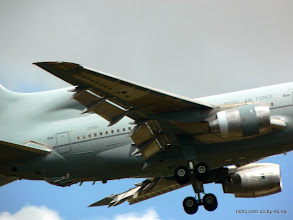 Photo: RAF TriStar troop transport