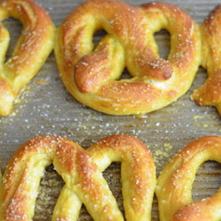 Soft Pretzels W. Ipa Beer Cheese Dip.