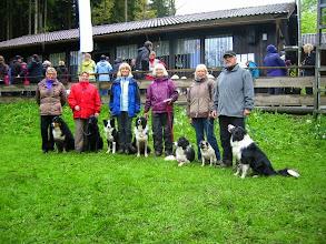 Photo: Angelika, Doro, Karin, Helen, Brigitte und Gerhard