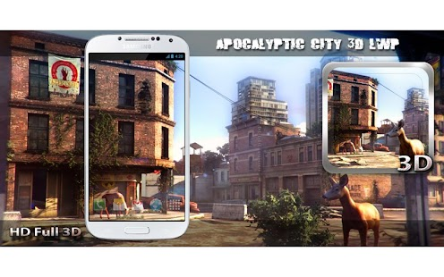 Apocalyptic City 3D LWP Screenshot