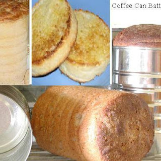 Coffee Can Batter Bread