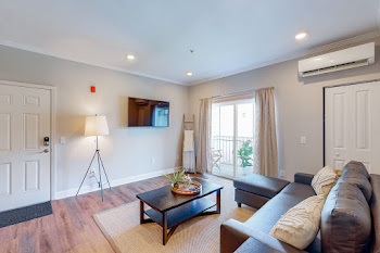 Go to Two Bed, Two Bath - Furnished Floorplan page.