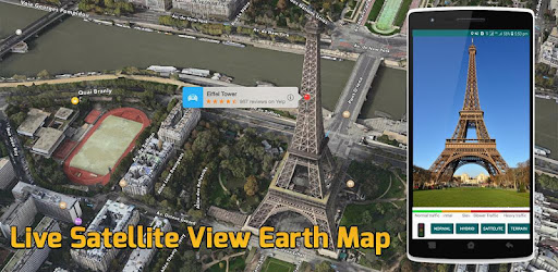 Live Earth Map Location : GPS Satellite View 2018 for PC