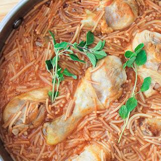 Sopa De Fideo with Chicken Recipe