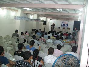 Photo: UPSC Toppers Seminar 2012 at A A SHAH's IAS Institute, FORT