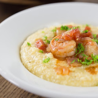 Authentic Southern Shrimp and Grits.