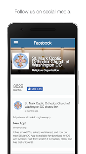 St Mark DC APP- screenshot thumbnail