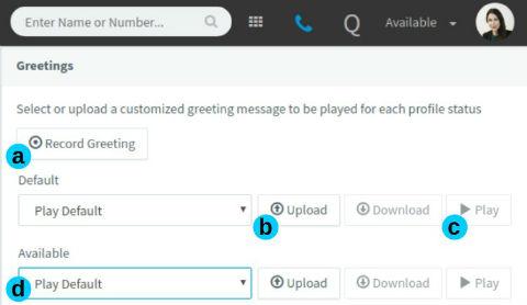 Voicemails beheren via de 3CX Web Client