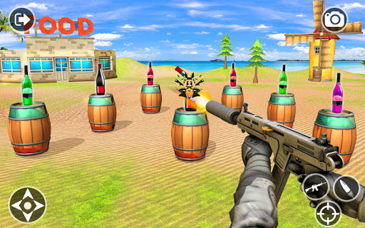 Impossible Bottle Shooting Game 2019 screenshot 1