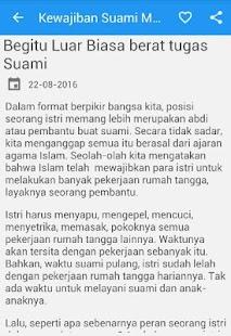 Kewajiban Suami Syariat Islam - náhled