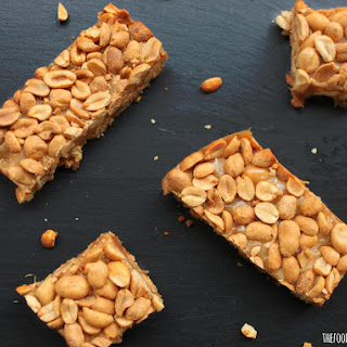 National Peanut Cluster Day | Homemade PayDay Bars.