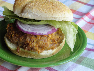 Sweet And Spicy Pork Burgers Recipe