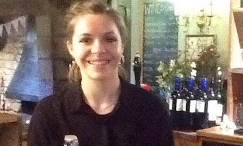 bar lady at the blue ball braunston pub