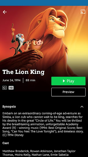 Disney Movies Anywhere Apk Download Free for PC, smart TV