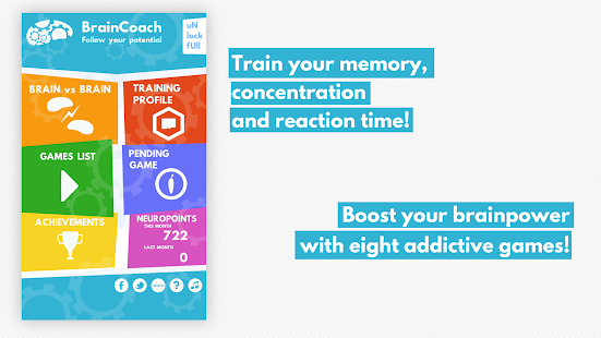 Brain Coach - Memory Games screenshot