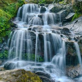 Waterfalls  by Santanu Maity - Landscapes Waterscapes ( waterfalls, waterscape, waterfall, water, landscape )