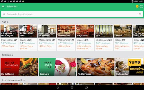 ElTenedor  Restaurantes España - screenshot thumbnail